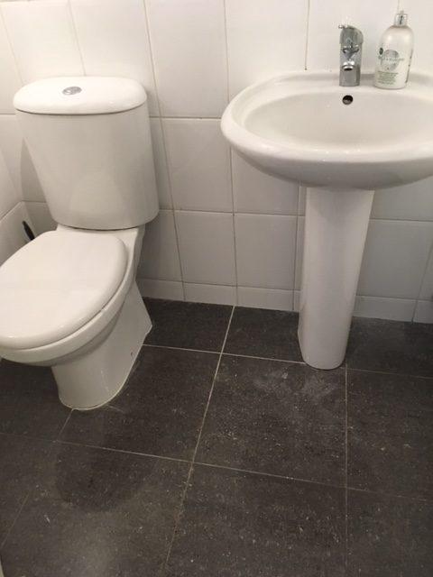 blocked sink drain