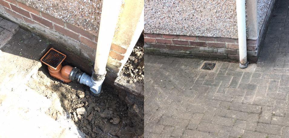 drain excavation Maryhill
